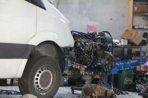 ремонт двигателя Спринтер